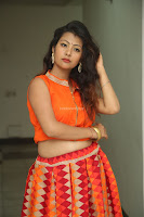 Shubhangi Bant in Orange Lehenga Choli Stunning Beauty ~  Exclusive Celebrities Galleries 056.JPG