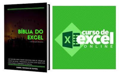 E-book A Bíblia do Excel - Formação 100% ONLINE Microsoft Excel Especialista