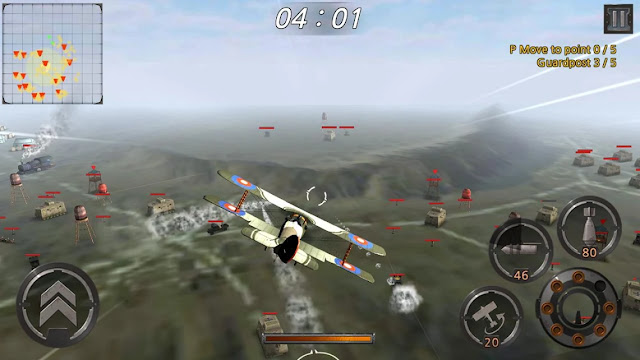 Screenshot World War Sky fighters - Apcoid