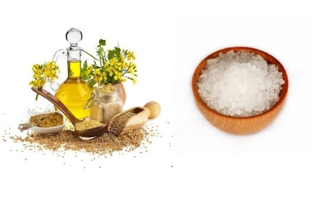 Memutihkan Gigi Secara Alami Menggunakan Minyak Mustard dan Garam