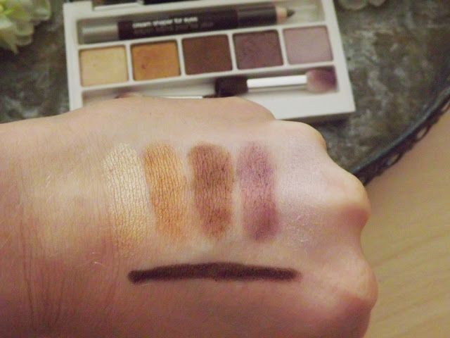 Clinique Eyeshadow Palette Swatches