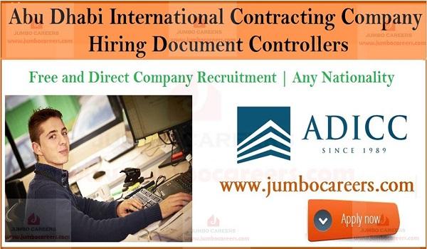 Office job vacancies in UAE, Latest job openings in Gulf countries,
