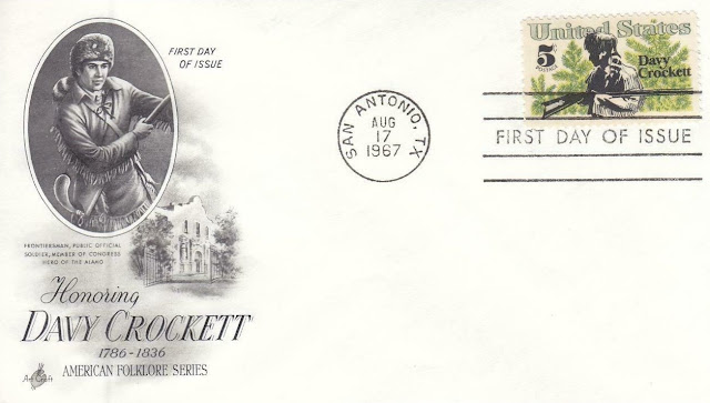 Davy Crockett USA FDC