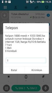 solusi tak dapat paket only for you Indosat untuk agan 2 Tutorial Paket Indosat Murah Only For You