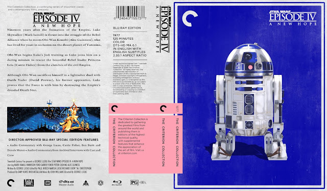 Star Wars: Episode IV - A New Hope Bluray Cover