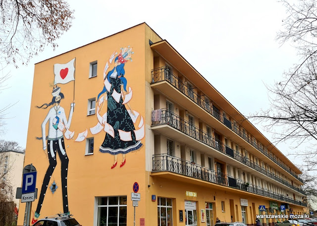 Mikołaj Rejs miłość w czasach zarazy Warszawa Warsaw muralart warszawskiemurale streetart Mokotów
