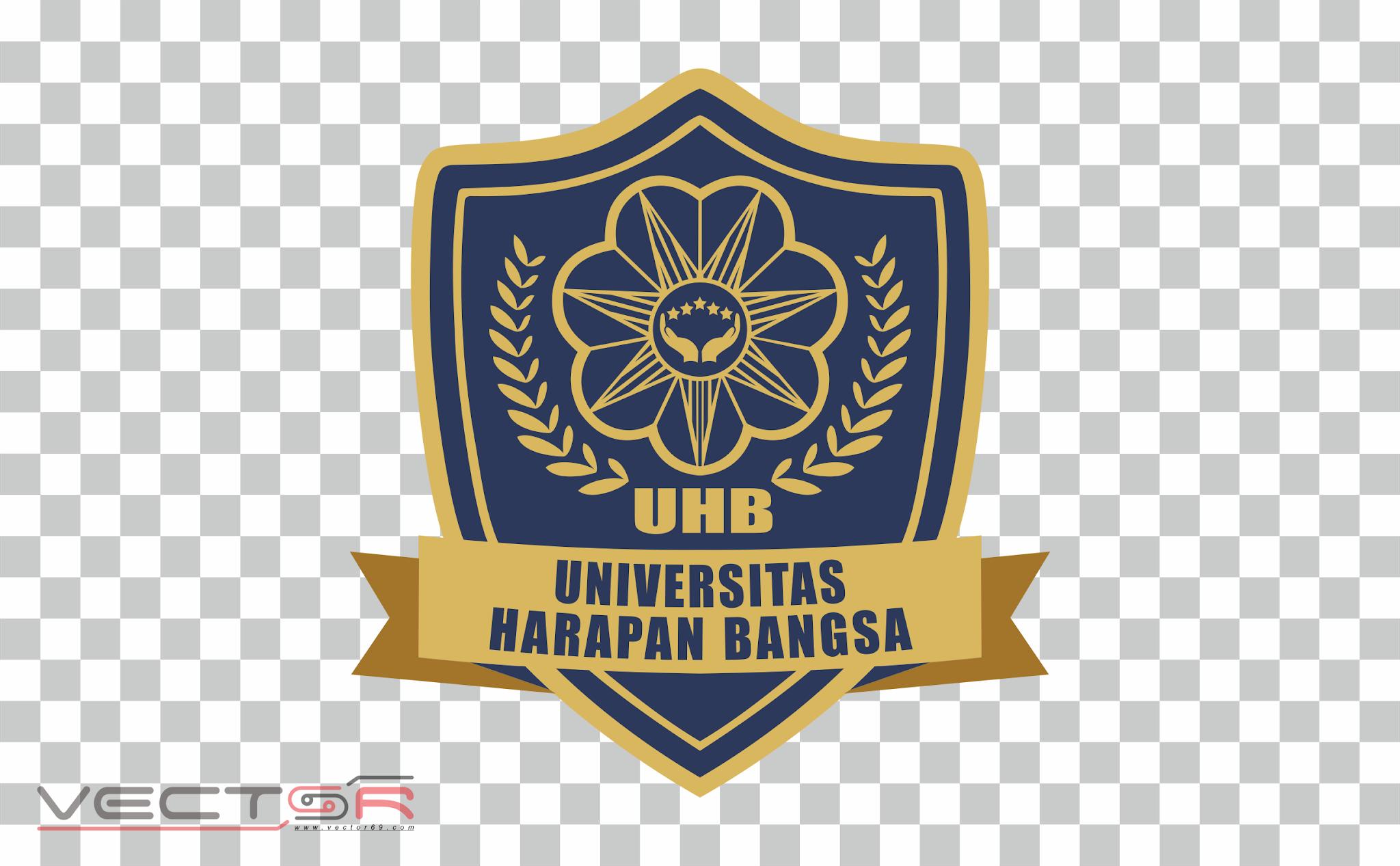 UHB (Universitas Harapan Bangsa)/ Harbang Logo - Download Vector File PNG (Portable Network Graphics)