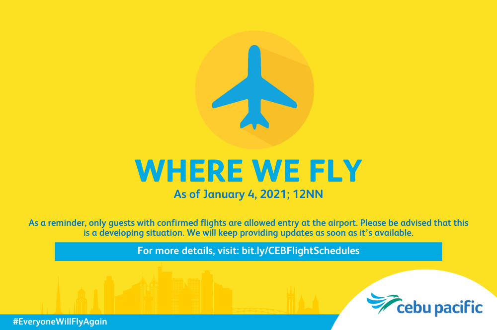 Cebu Pacific Airlines where we fly