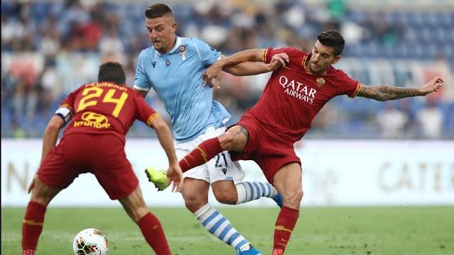 مشاهدة مباراة روما ولاتسيو بث مباشر