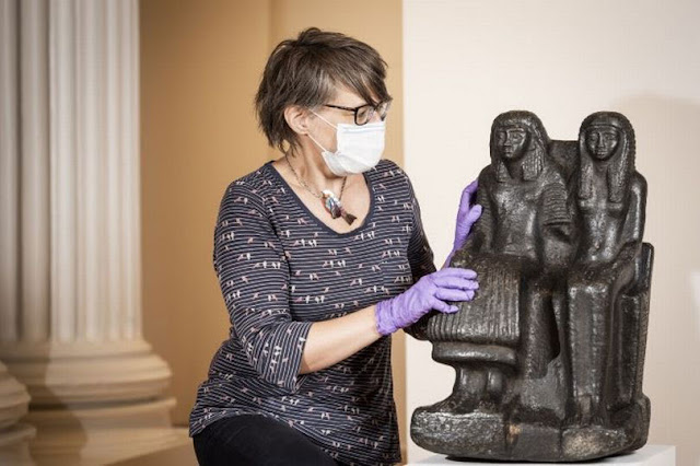 3,000 year-old statue acquired for Leicester's Ancient Egypt collection