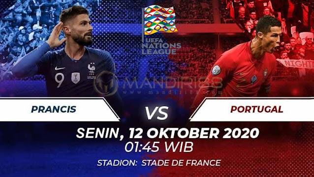 Prediksi Prancis Vs Portugal, Senin 12 Oktober 2020 Pukul 01.45 WIB @ Mola TV