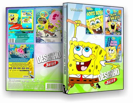 CAPA DVD – COLEÇÃO DESENHO 3X1 VOL 39 – ISO