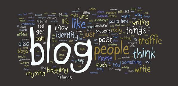 blogger ve blogculuk görseli