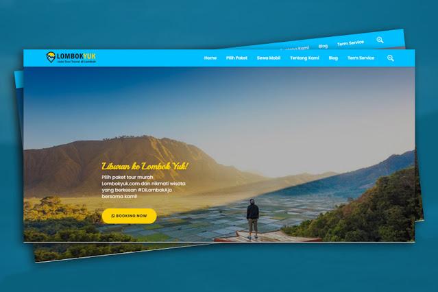 Project Website : Lombokyuk.com