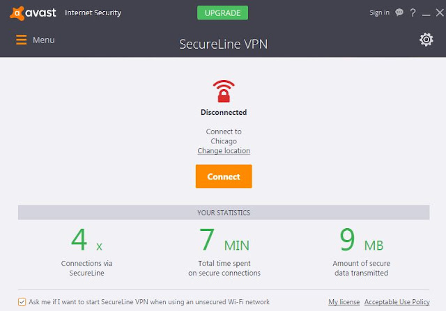 Avast Secureline vpn License Key free