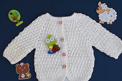 1 -Crochet Imagenes Chaqueta a crochet para niño muy fácil y sencilla por Majovel Crochet.