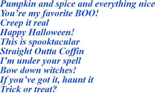 Instagram Captions For Halloween