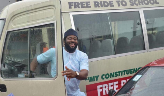desmond elliott buys luxury bus