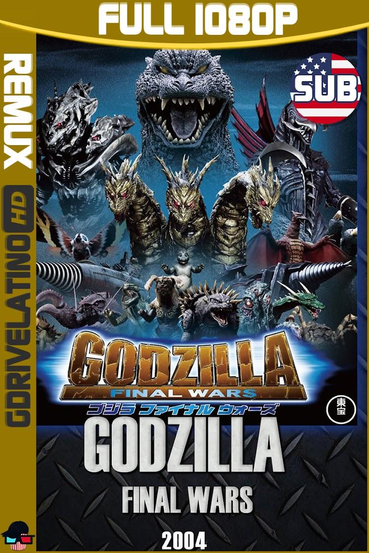 Godzilla : Final Wars (2004) BDRemux 1080p Subtitulado MKV
