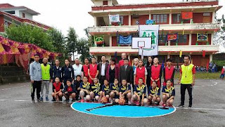 TCV CHAUNTRA INTER SCHOOL GIRL  BASKETBALL TOURNAMENT