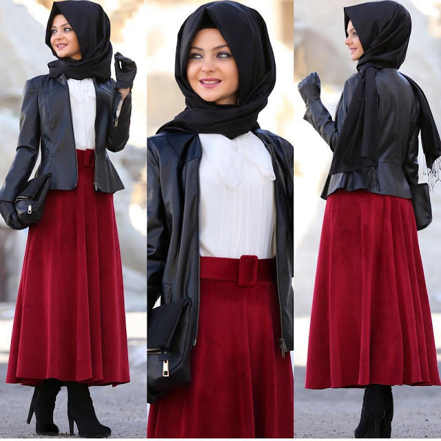 fashion hijab styles 2018