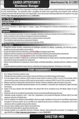 PAEC Jobs 2021 Pakistan Atomic Energy Commission