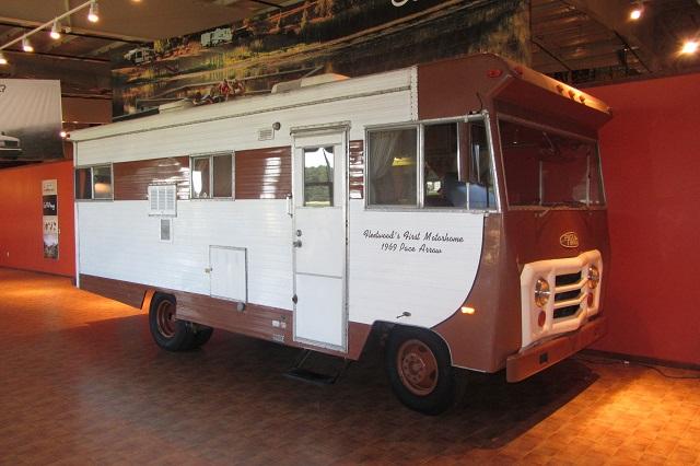 Una autocaravana pionera