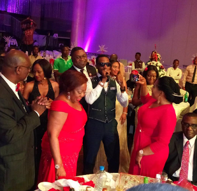 dbanj at senator ita giwa 70th birthday photos