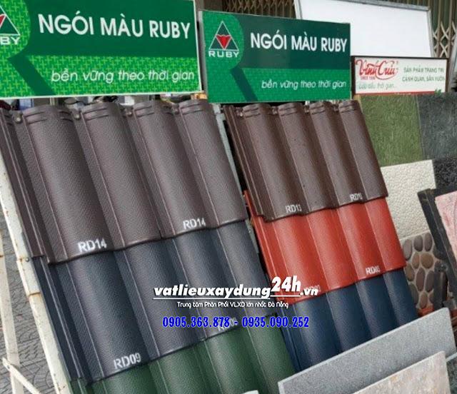 Ngói màu Ruby tại Đà Nẵng