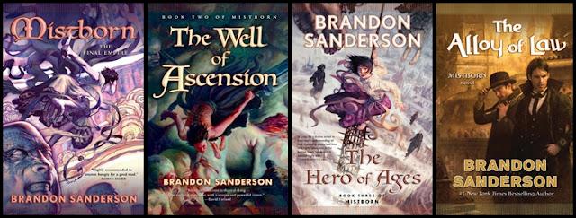 """أبناء الضباب Mistborn لـ""""براندن ساندرسنBrandon Sanderson كتب روايات تحميل pdf كتاب رواية"""