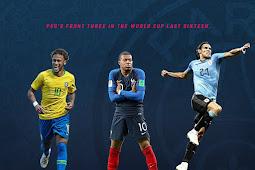 Para Pemain PSG Unjuk Kemampuan Pada Babak 16 Besar Piala Dunia 2018