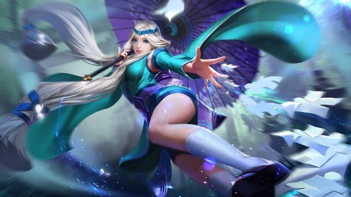 Kagura, uma heroína maga para a sua tela
