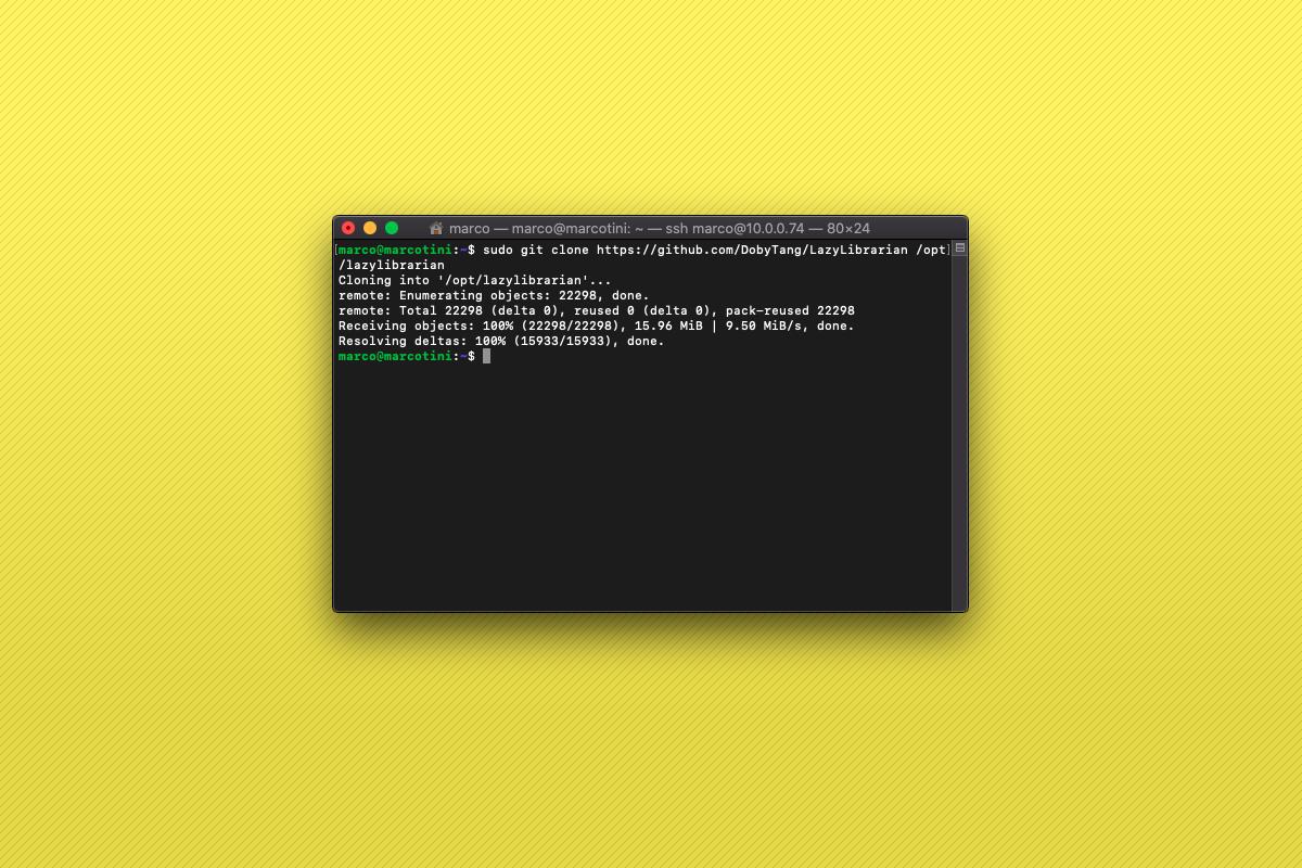 Come installare LazyLibrarian su Raspberry Pi