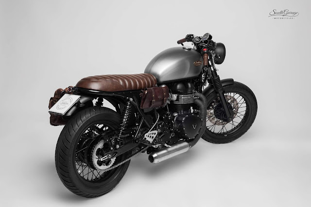 Triumph Thruxton 2010 By South Garage Motorcycles Hell Kustom