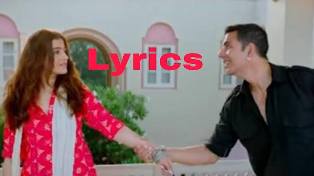 Filhal song lyrics in hindi