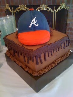 Baby Bee Bakery Atlanta Braves Groom S Cake