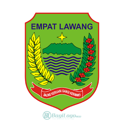 Kabupaten Empat Lawang Logo Vector