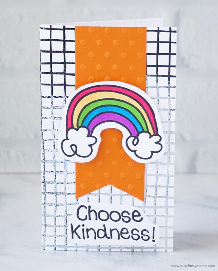 Handmade Choose Kindness Card