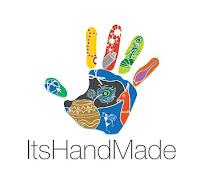 ItsHandMade-Logo Partecipazione mod. Romantic VintagePartecipazioni shabby chic - country - vintage Tema cuori