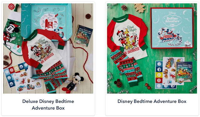 Holiday Mickey Disney Bedtime Adventure Box