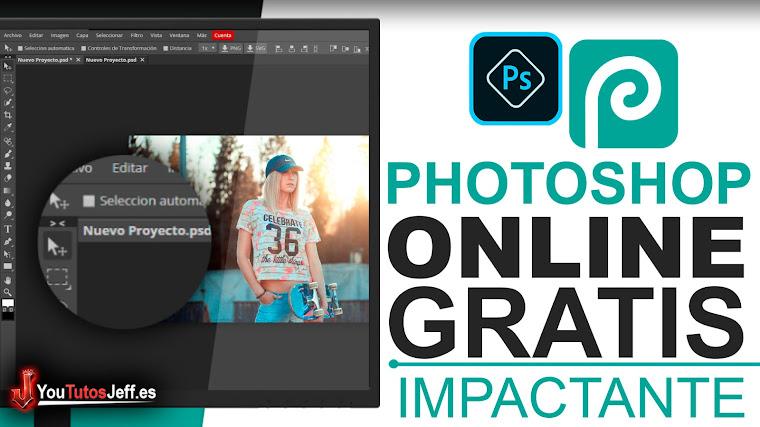 El Photoshop Online Gratis - El Mejor Editor de Fotos Online