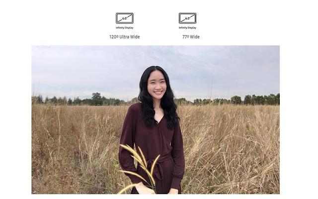 Kamera Samsung M20