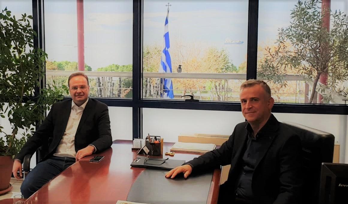 Αφετηρία συνεργασίας του Δήμου Αριστοτέλη με το ΤΕΕ/ΤΚΜ για το φράγμα    και τον ΧΥΤΕΑ Κοκκινόλακκα