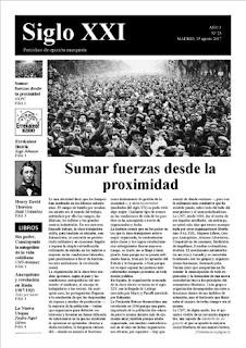 Periodico Siglo XXI nº 25