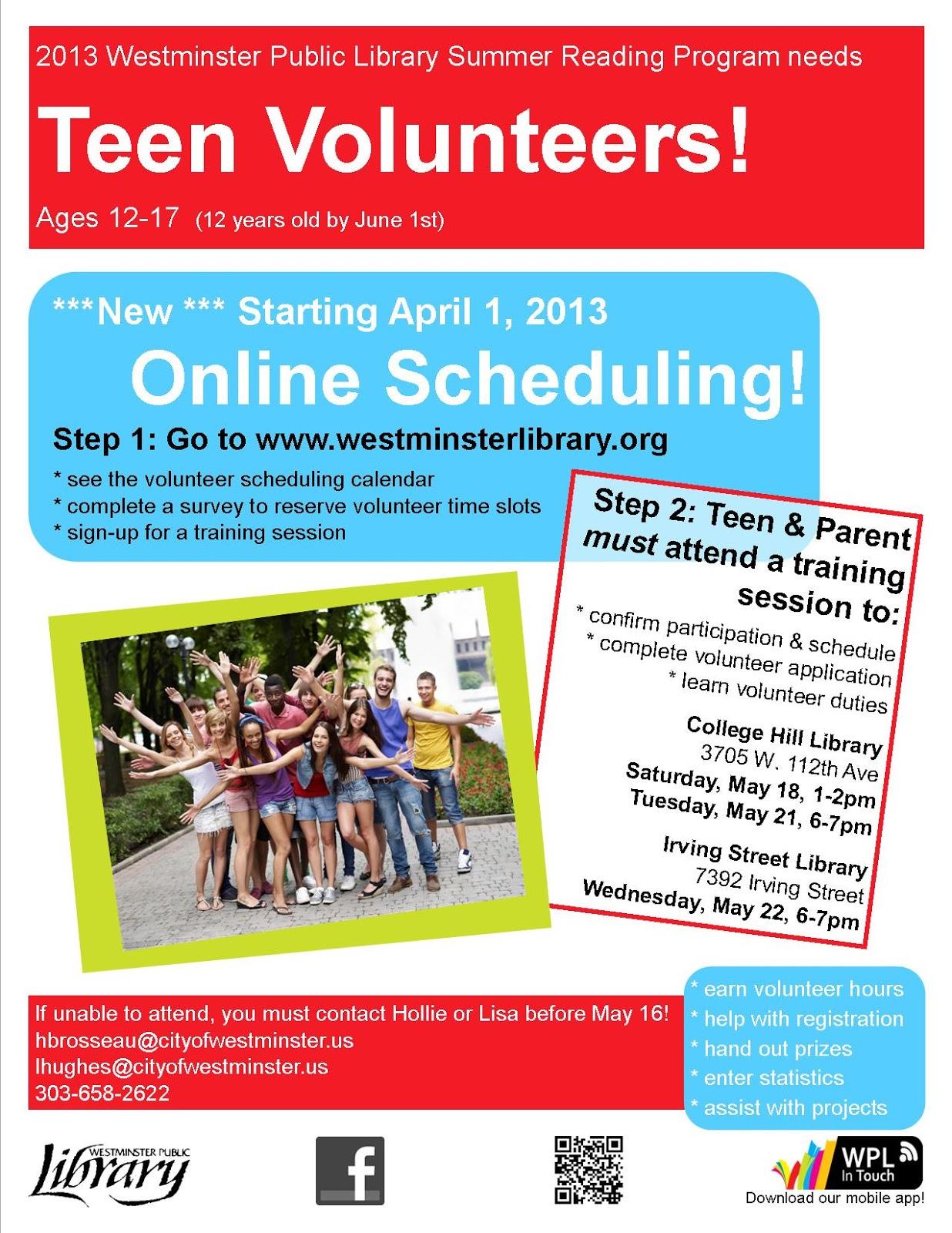 Teen Underground Blog Online Scheduling For Teen Summer