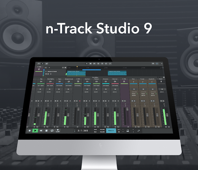 n-Track Studio 9.0.2 Build 3561 (32-bit) { Latest 2018 }
