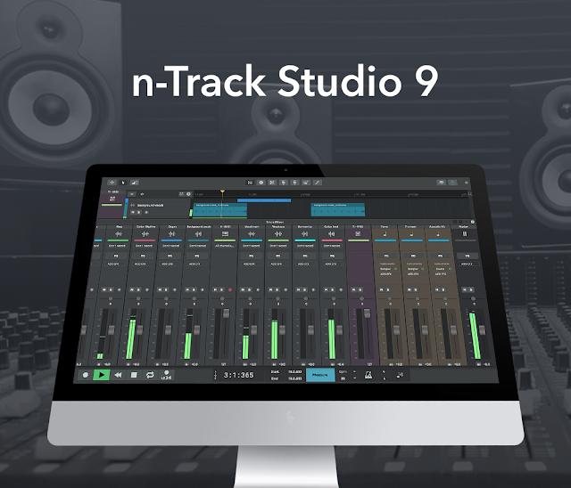 n-Track Studio 9.0.2 Build 3561 (32-bit) { Latest 2018 }