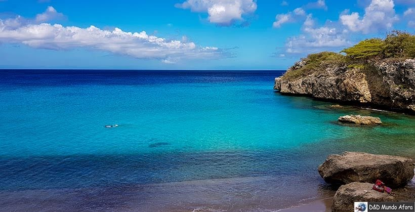 Praia Jeremi - Curaçao: Tour de praias com guia brasileiro