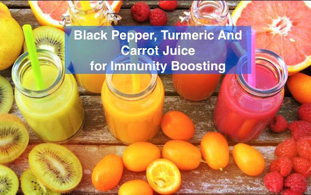 7StarHD, Black Pepper Turmeric And Carrot Juice for Immunity Boosting