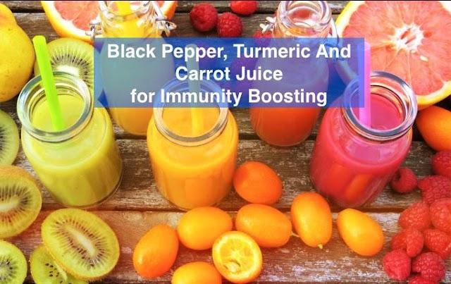 हल्दी, काली मिर्च और गाजर के रस की रेसेपी जिससे आप आसानी से अपने इम्यून सिस्टम को मज़बूत कर सकते हैं - Immunity Booster Food, 7StarHD
